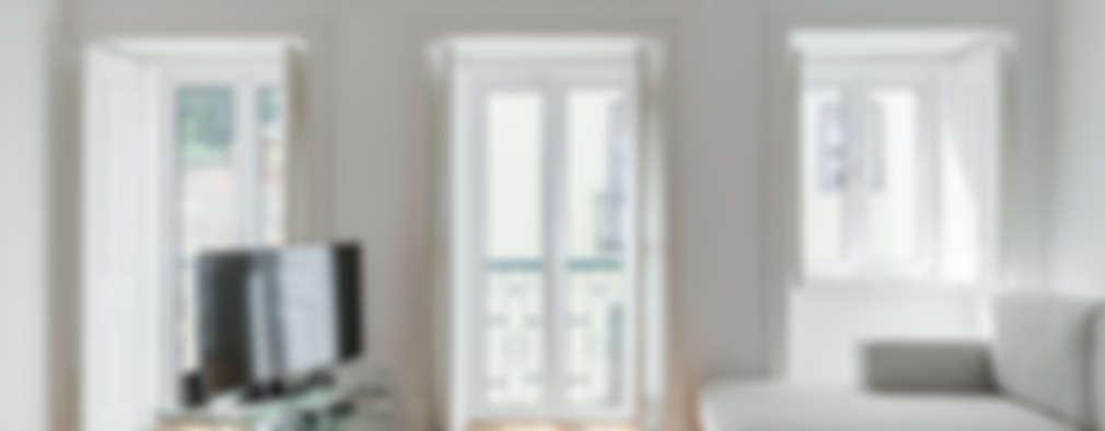 Soggiorno in stile in stile Minimalista di Vanessa Santos Silva | Arquiteta