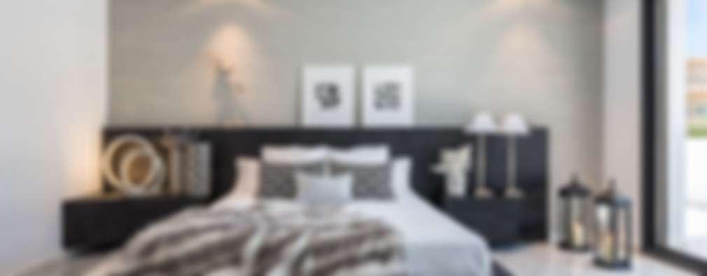 mediterranean Bedroom by Laura Yerpes Estudio de Interiorismo
