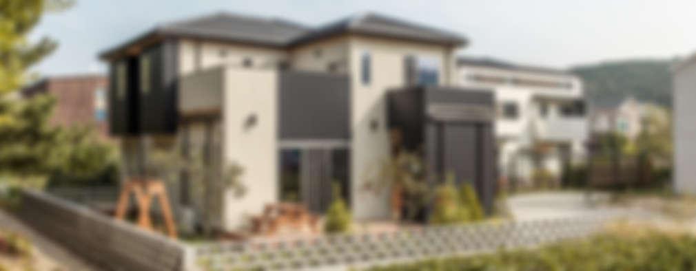 Projekty, nowoczesne Domy zaprojektowane przez woodsun