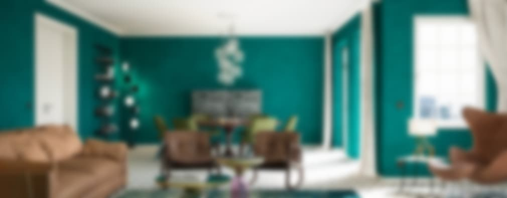12 colores que har n que tu sala de estar se vea hermos sima for Color de cortina con pared blanca