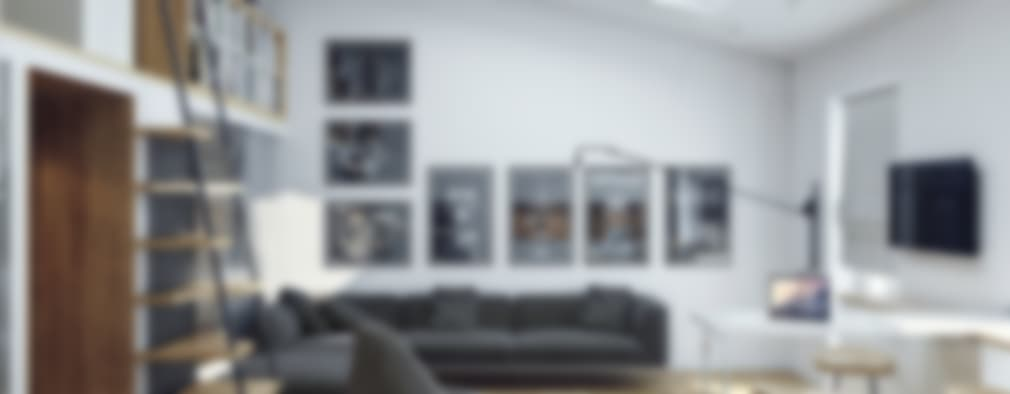 scandinavian Living room by Хороший план