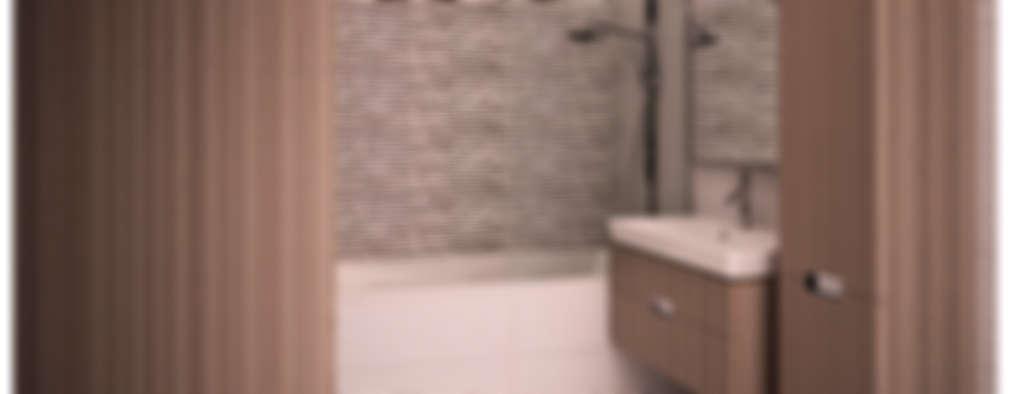 minimalistic Bathroom by AG design