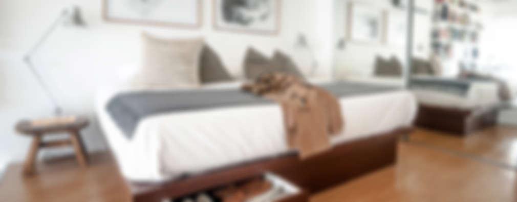 8 Formas geniales de aprovechar el espacio debajo de la cama