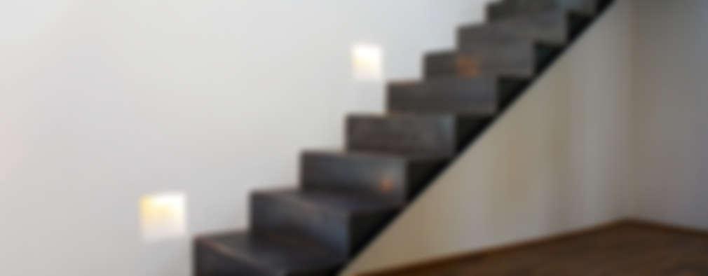 10 Escaleras modernas que no necesitaron de pasamanos