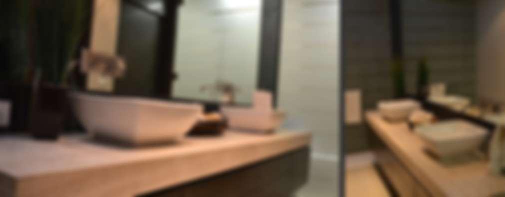 modern Bathroom by TREVINO.CHABRAND | Architectural Studio
