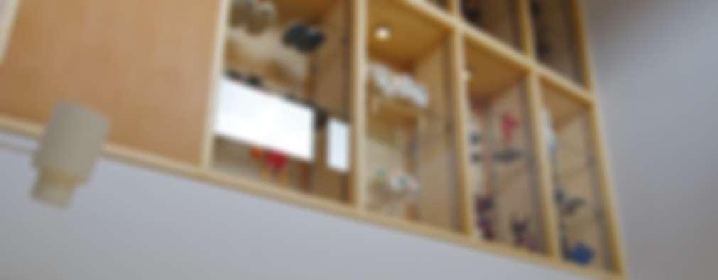 Comedores de estilo escandinavo por K+Yアトリエ一級建築士事務所