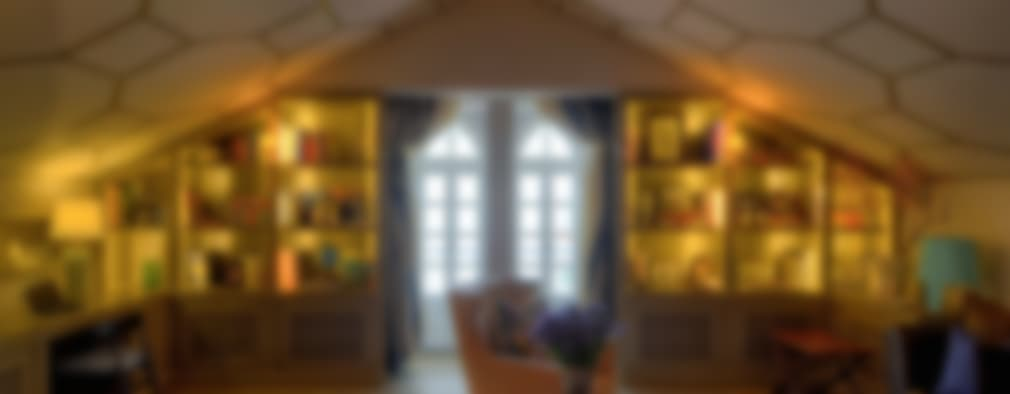 Viterbo Interior design: eklektik tarz tarz Çalışma Odası