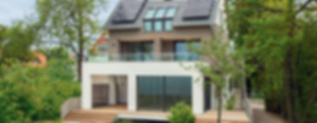 modern Houses by Bau-Fritz GmbH & Co. KG