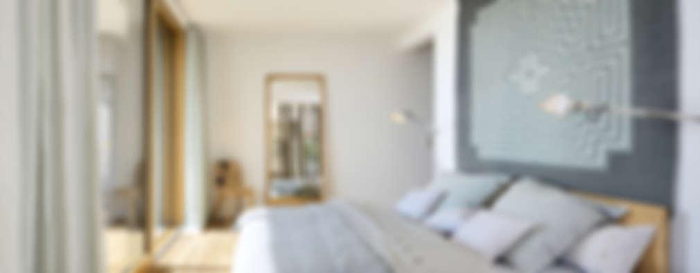 غرفة نوم تنفيذ Bau-Fritz GmbH & Co. KG