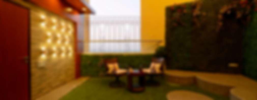 RESIDENTIAL PENTHOUSE INTERIORS: modern Garden by AIS Designs
