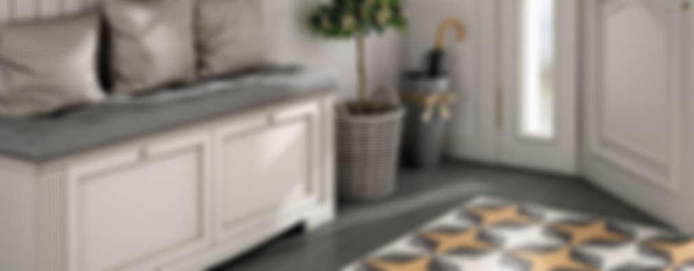الممر والمدخل تنفيذ Equipe Ceramicas