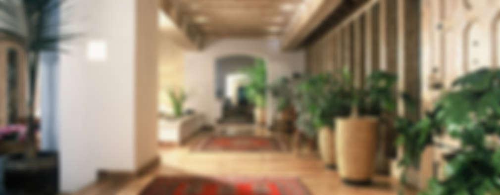 Pasillos y recibidores de estilo  por JR Arquitectos