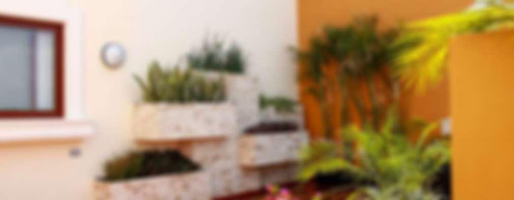 jardines con maceteros y ms jardines de estilo moderno por ecoentorno paisajismo