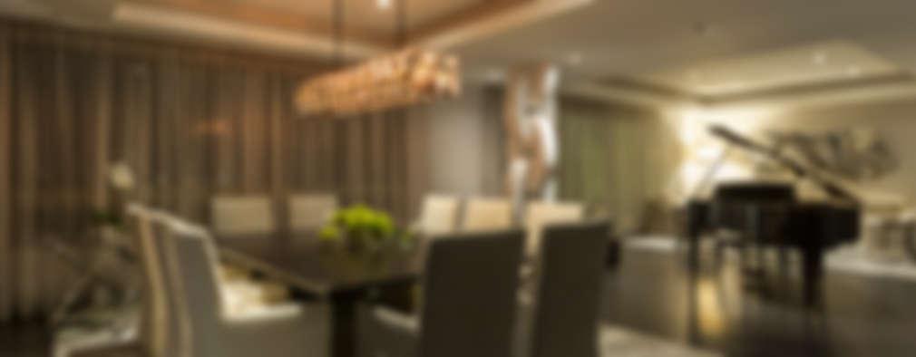 DEPARTAMENTO EN LOMAS: Comedores de estilo clásico por HO arquitectura de interiores
