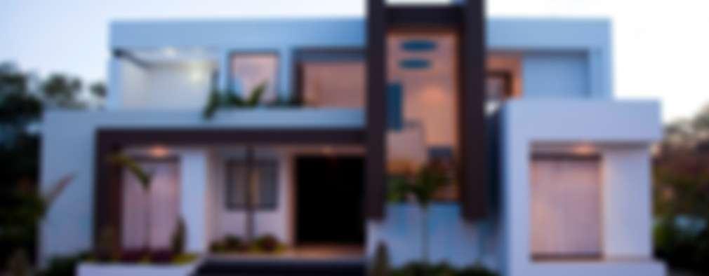Casas de estilo moderno por Camilo Pulido Arquitectos