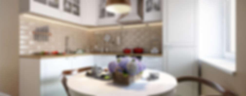 20 ideas para incluir una mesa en cocina pequeña (y que se vea bien)