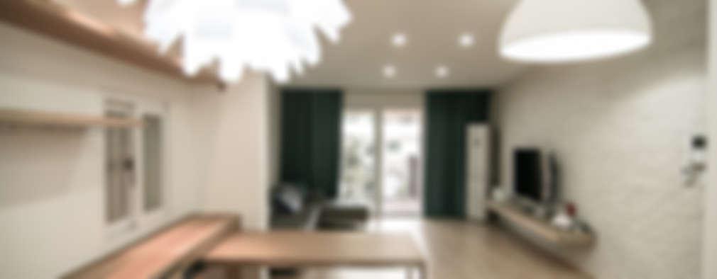 석촌동 주택: METAPHOR의  거실
