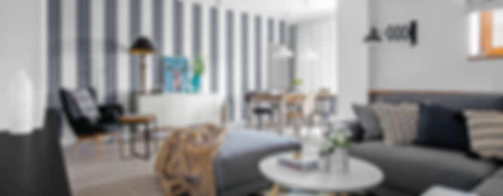 eclectic Living room by Ayuko Studio
