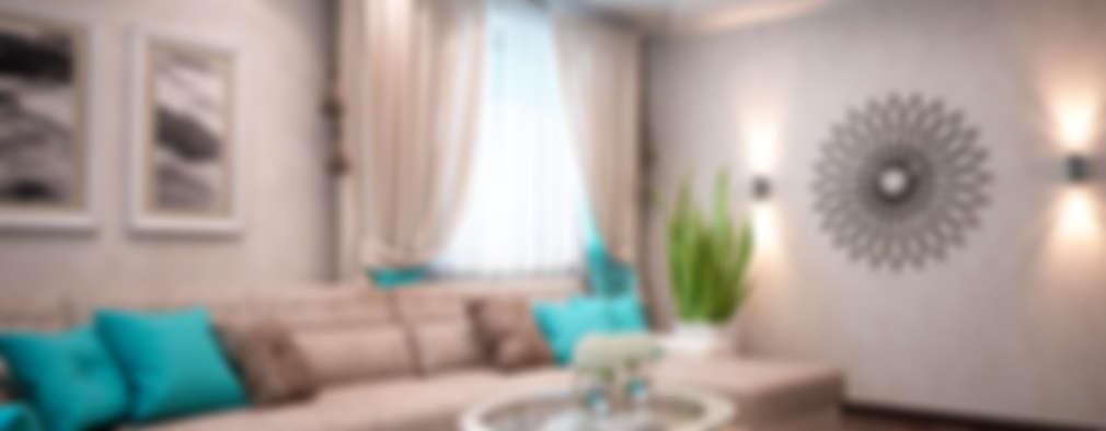 minimalistic Living room by 35KVADRATOV