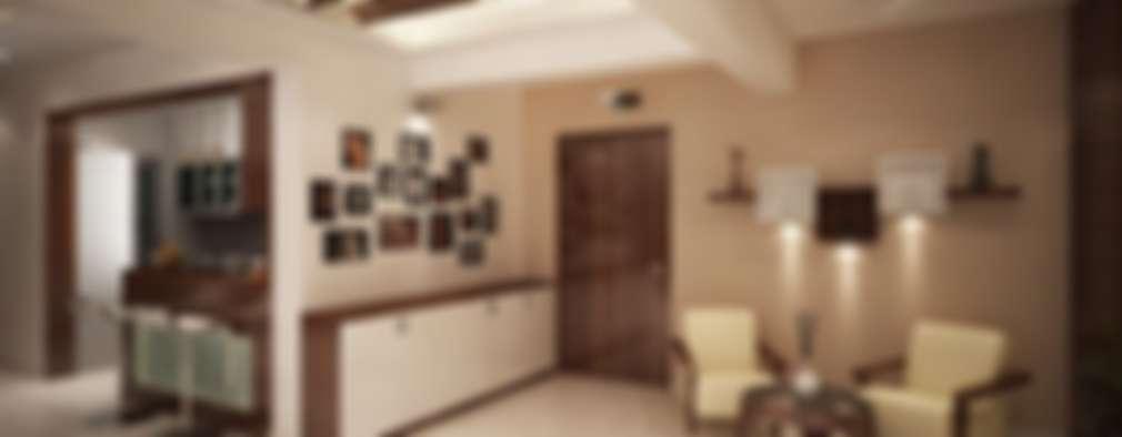 Salas de estilo moderno por ACE INTERIORS