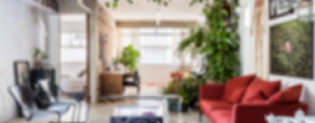 보태니컬 인테리어가 매력적인 에클레틱 스타일 아파트