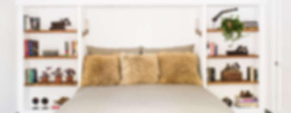 غرفة نوم تنفيذ Antonio Martins Interior Design Inc