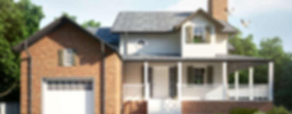 Projekty, wiejskie Domy zaprojektowane przez yücel partners