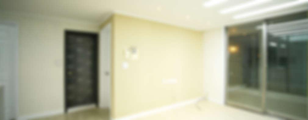 modern Living room by B&G 인테리어