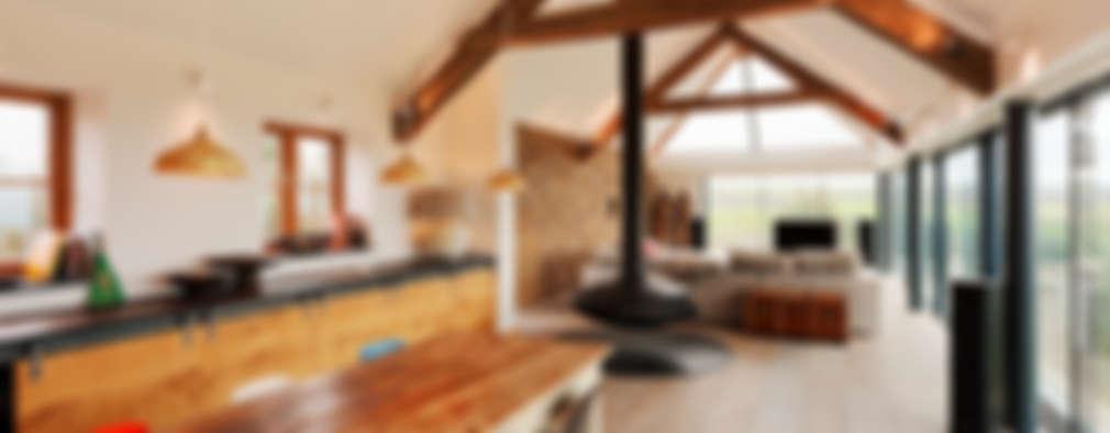 Cocinas de estilo moderno por Trewin Design Architects