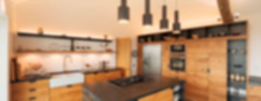 21 cocinas de madera modernas y espectaculares for Cocinas de madera modernas 2016