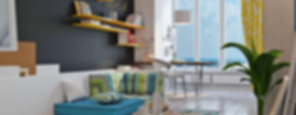 Oficinas de estilo escandinavo por Art-i-Chok