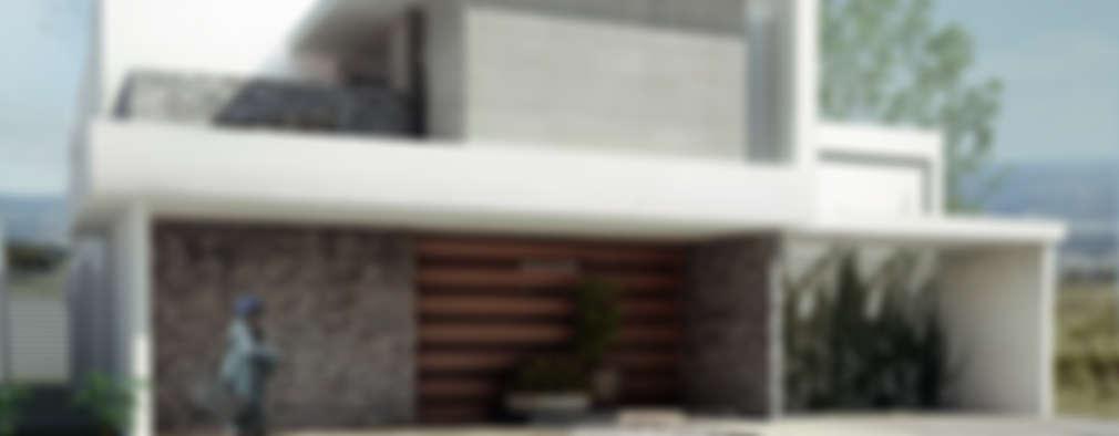 منازل تنفيذ TAQ arquitectura