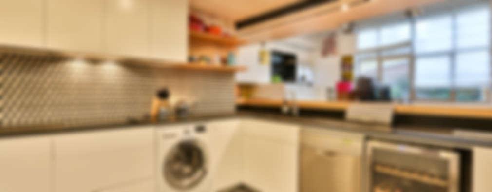 Projekty,  Kuchnia zaprojektowane przez LUSIARTE