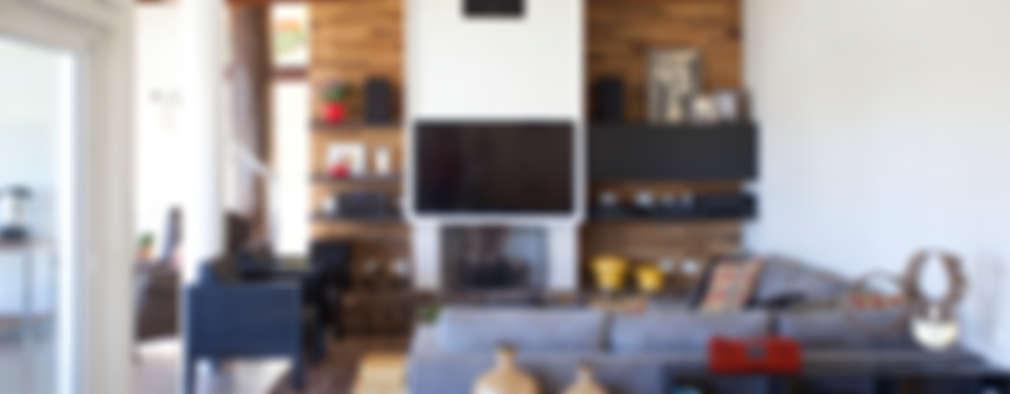 modern Living room by Samy & Ricky Arquitetura
