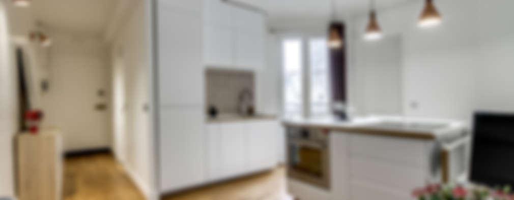 Cocinas de estilo moderno por Transition Interior Design