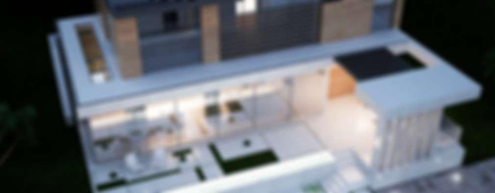 проект дома в современном стиле: Дома в . Автор – Way-Project Architecture & Design