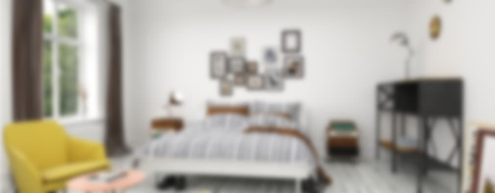 Bedroom in Stockholm - 2015 : Dormitorios de estilo moderno por InOutSide Architecture and Design