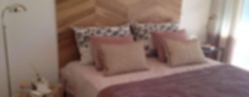 Dormitorios de estilo  por Azora Estudio