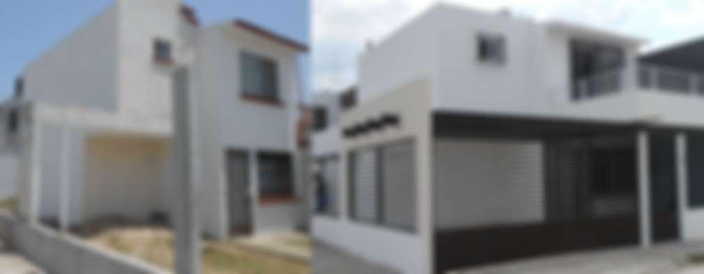 classic Houses by Obras y reformas de vivienda,proyectos de arquitectura en Tabasco.