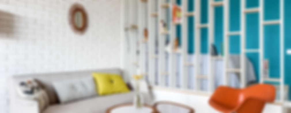 Salas / recibidores de estilo moderno por Transition Interior Design