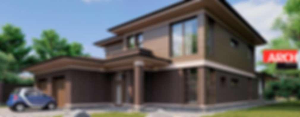 5 casas modernas de dos pisos con todos sus planos for Disenos arquitectonicos de casas modernas