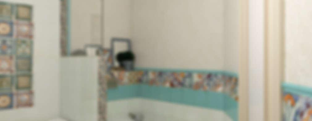 حمام تنفيذ Студия дизайна Дарьи Одарюк