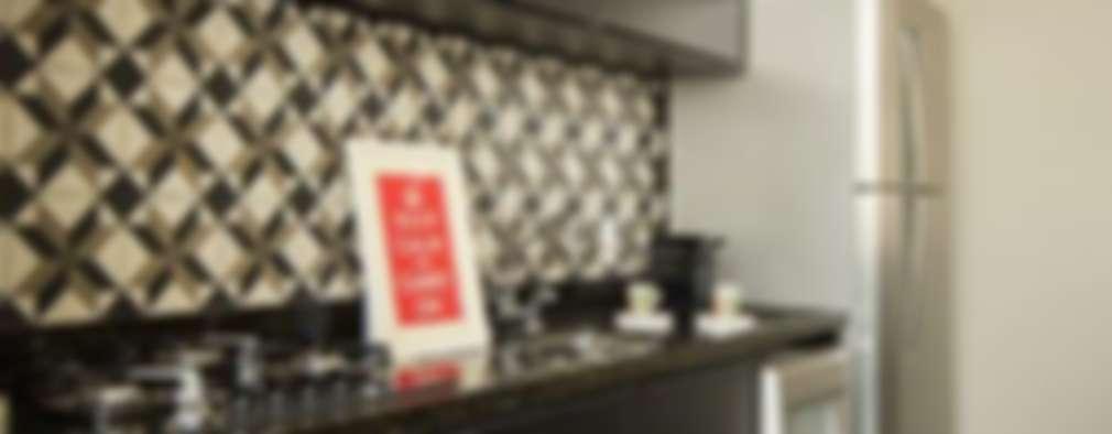 modern Kitchen by Samaia Arquitetura+Design