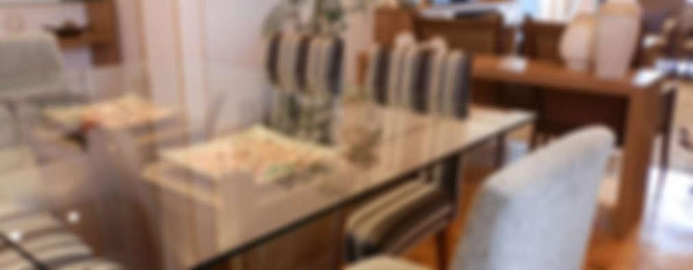 MBDesign Arquitetura & Interiores: modern tarz Yemek Odası