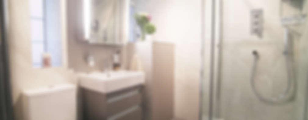 Salle de bains de style  par Patience Designs