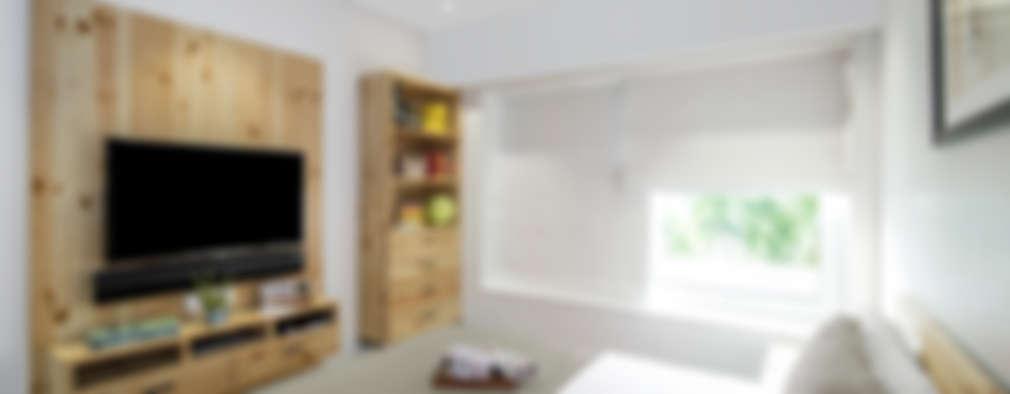 Muebles en madera de pino ¡para un departamento diseñado a tu medida!