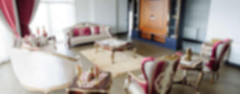 غرفة المعيشة تنفيذ Bilgece Tasarım
