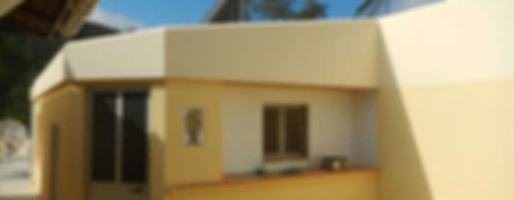RenoBuild Algarve: rustik tarz tarz Evler