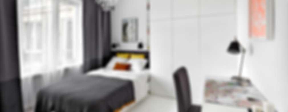 غرفة نوم تنفيذ dziurdziaprojekt