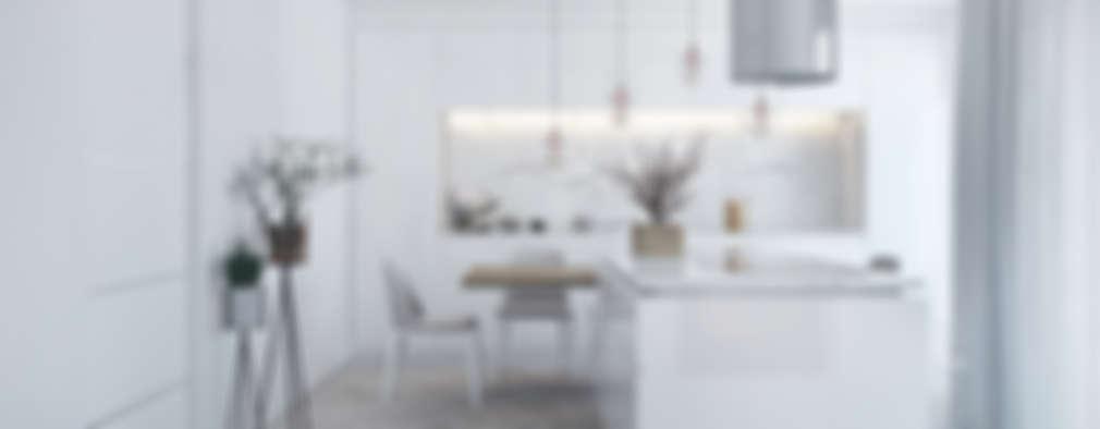 مطبخ تنفيذ DZINE & CO, Arquitectura e Design de Interiores